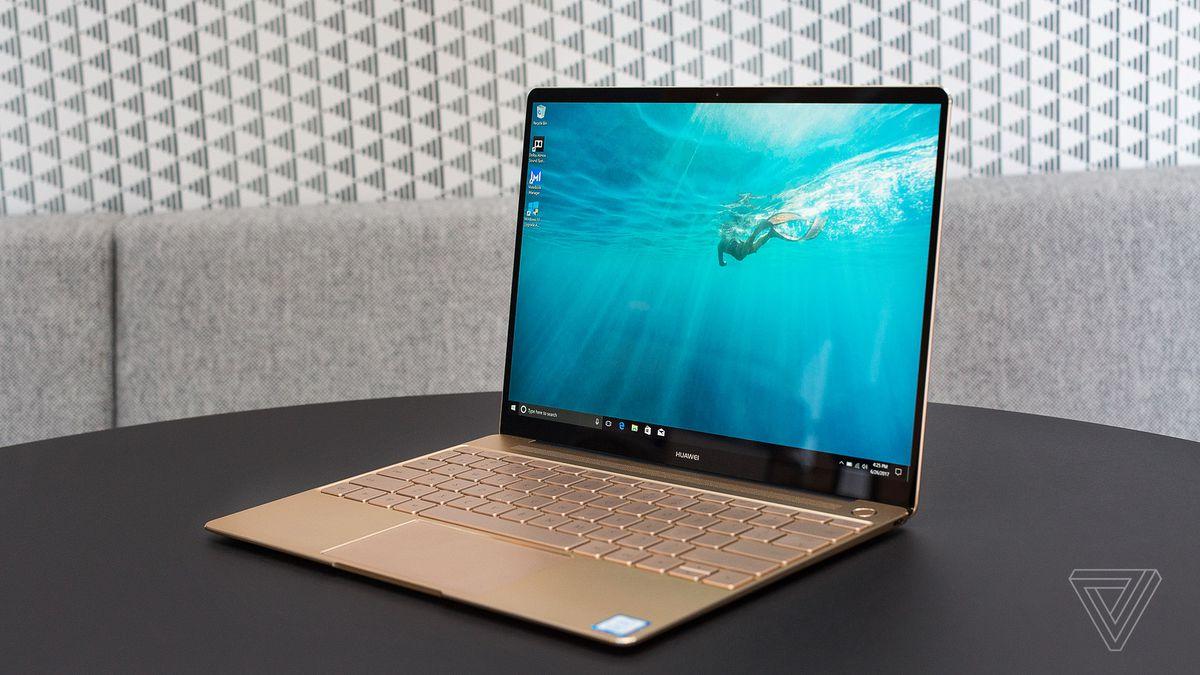 Hd Wallpapers For Laptop 15 6 Inch Screen Huawei Matebook X Laptop Review More Beautiful Than