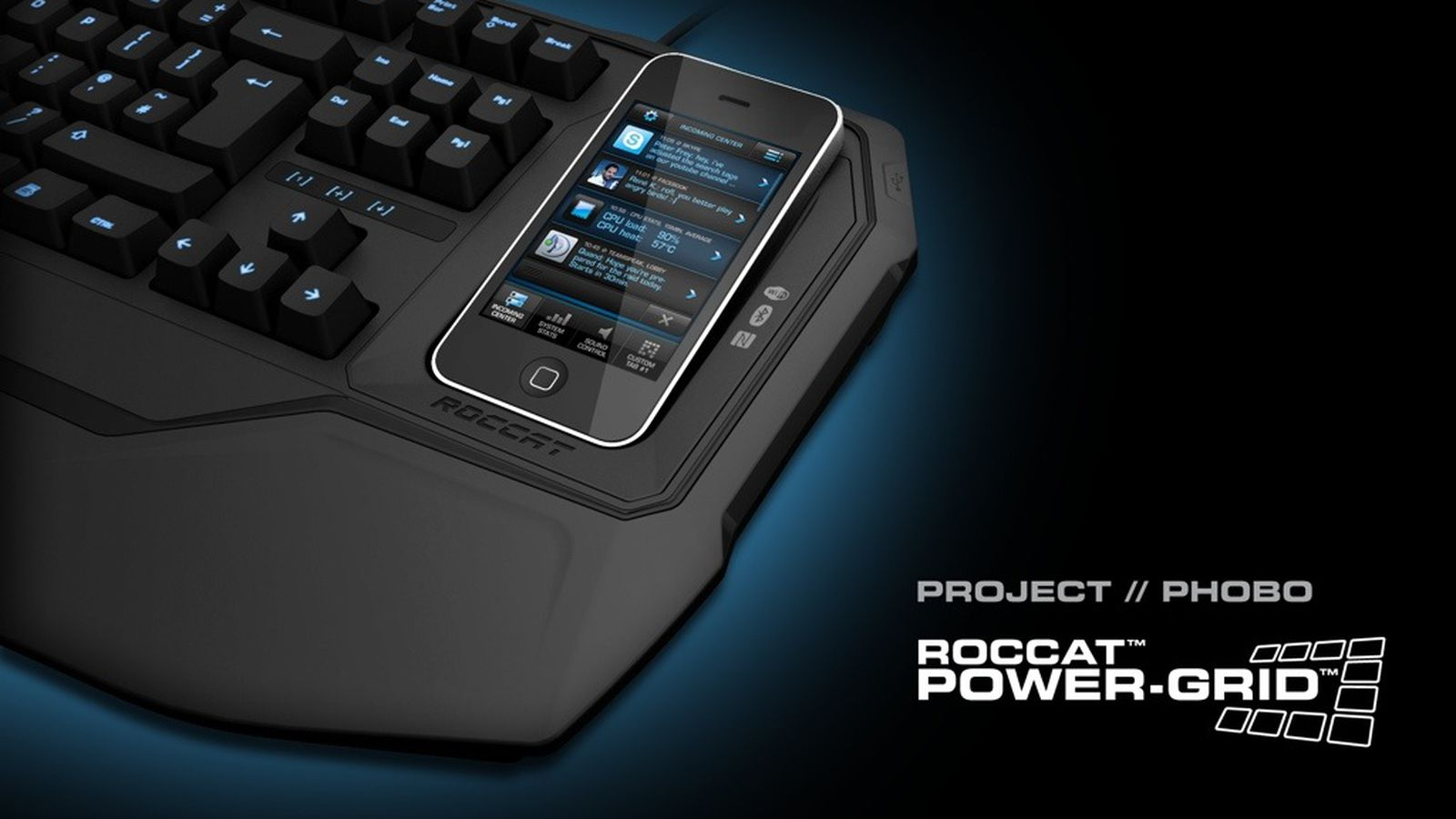 Aviation Wallpaper Iphone X Roccat Power Grid Turns Your Smartphone Into A Secondary