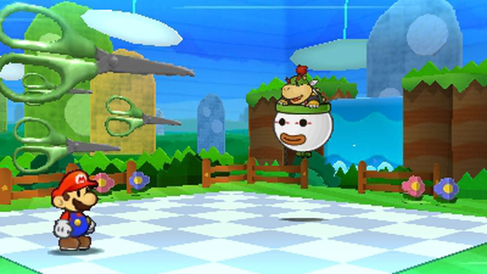 Super Mario 3d World Wallpaper Paper Mario Color Splash Launching Later This Year Polygon