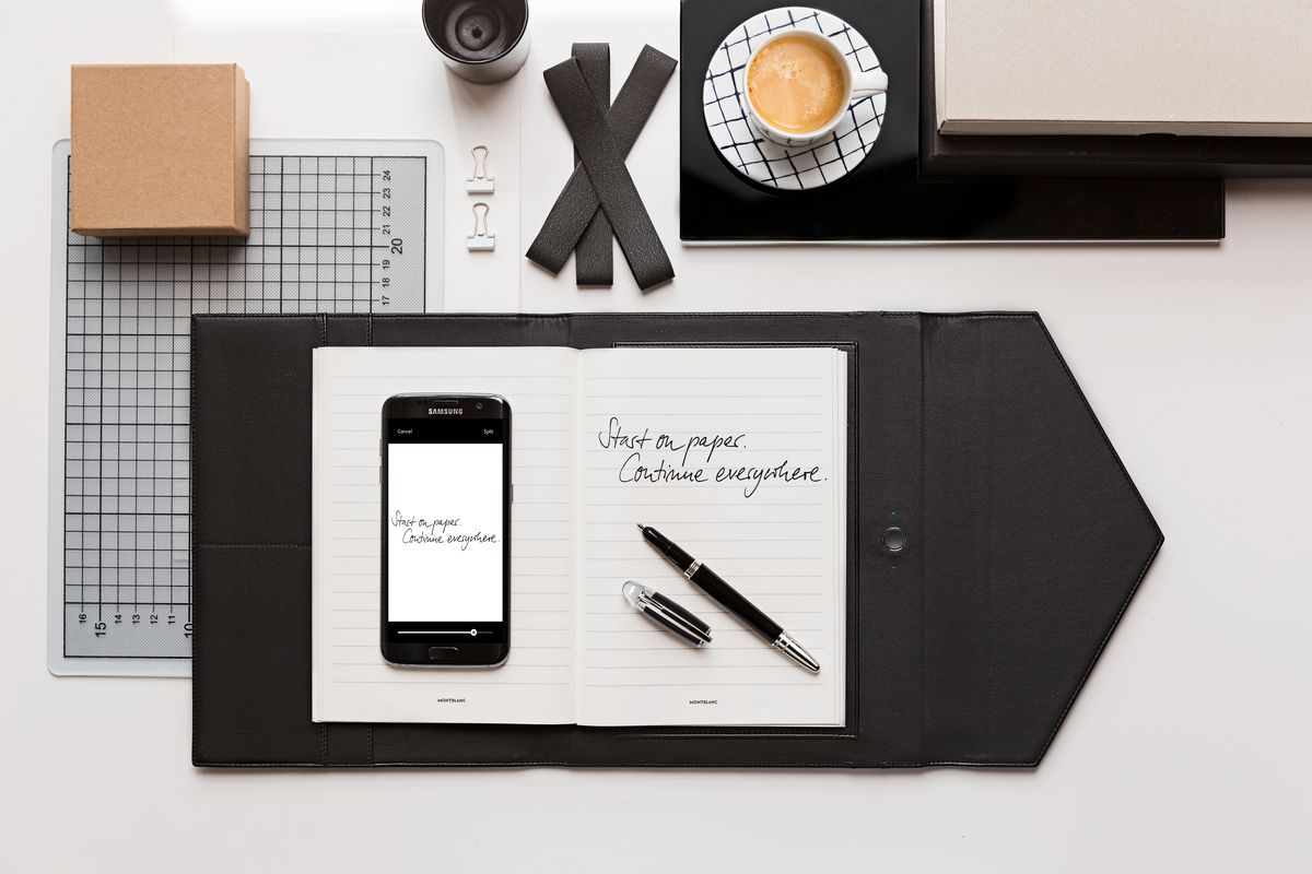 Ifa 2016 Montblanc's Augmented Paper Digitizes Rich People's
