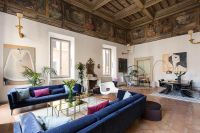 16th-century Roman palazzo combines frescoes and modern ...