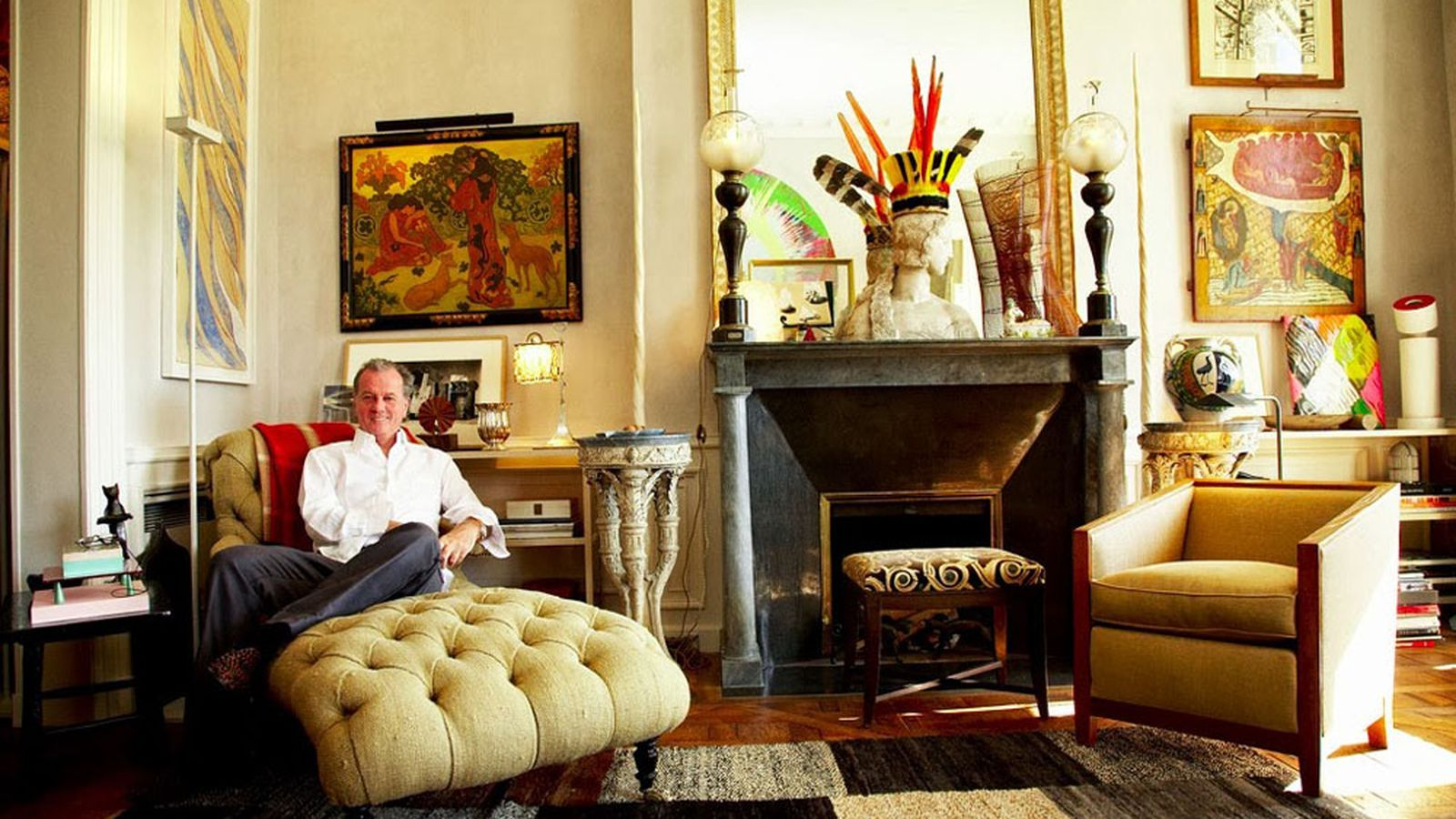 An Afternoon With Jacques Grange Fearless Decorator For - Garcia Decorateur