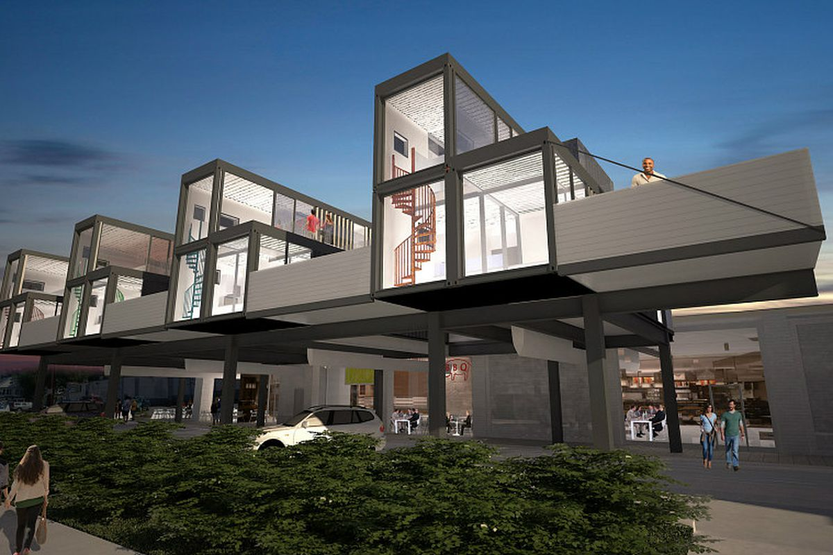 Shipping Container Haus Kaufen Brookland 39s Planned Shipping Container Condos Are Canceled