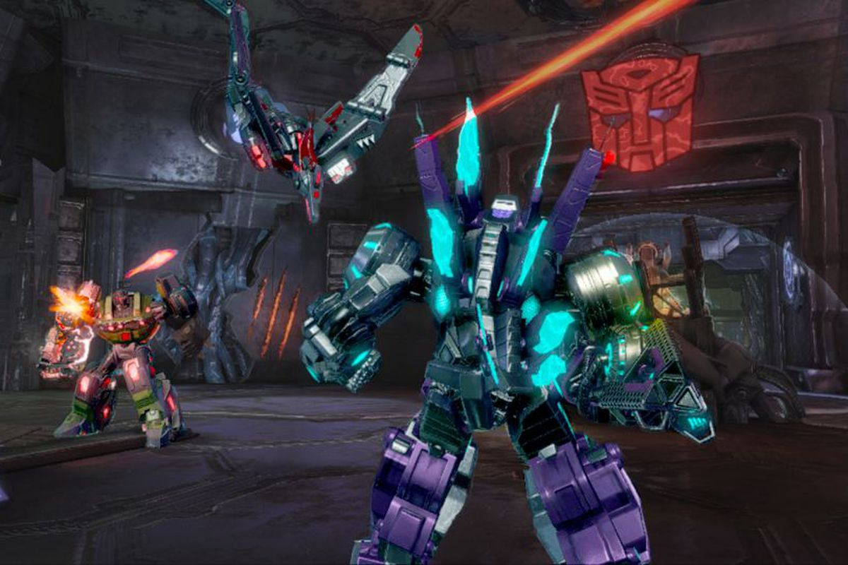 Transformers Fall Of Cybertron Wallpaper Transformers Fall Of Cybertron Dinobots Hit Multiplayer