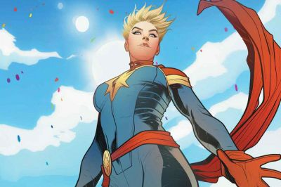 Setting Captain Marvel in the '90s hints at how much she matters - The Verge