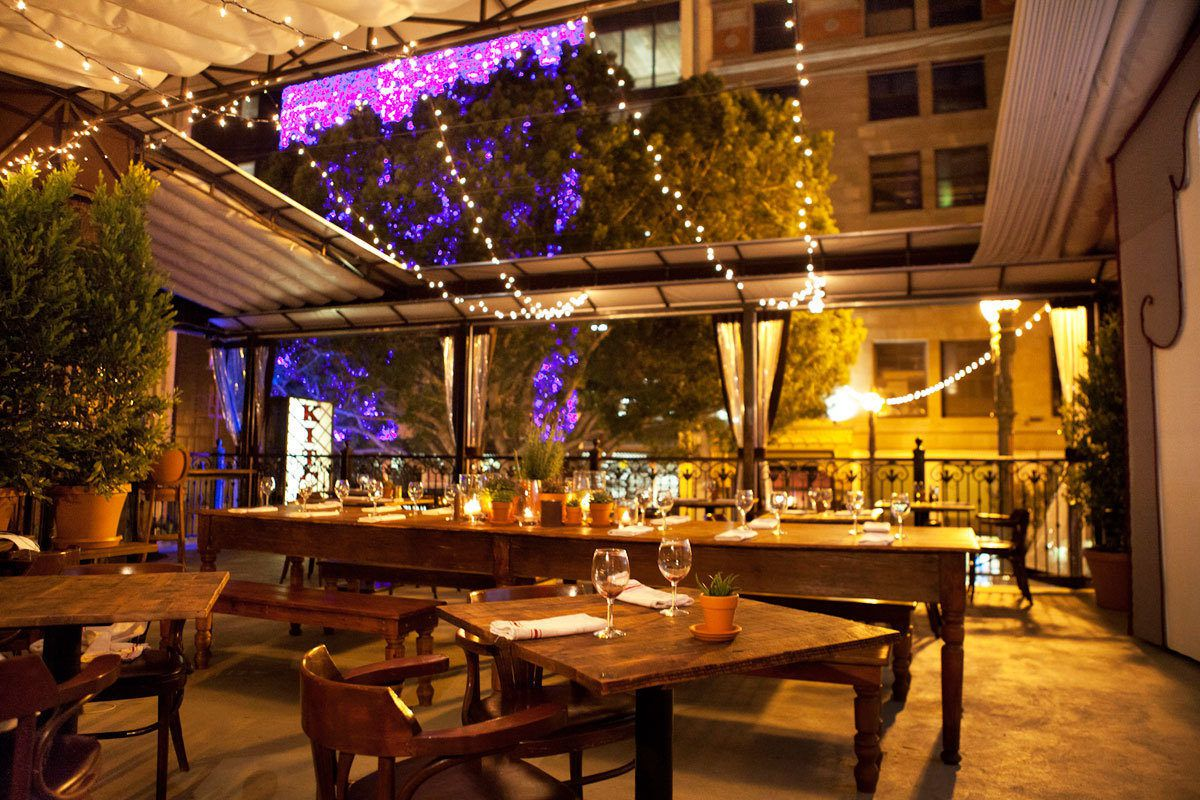 Hidden Kitchen Table Kitchen Table 39s Rooftop Dining Room Is A Hidden Gem Eater La