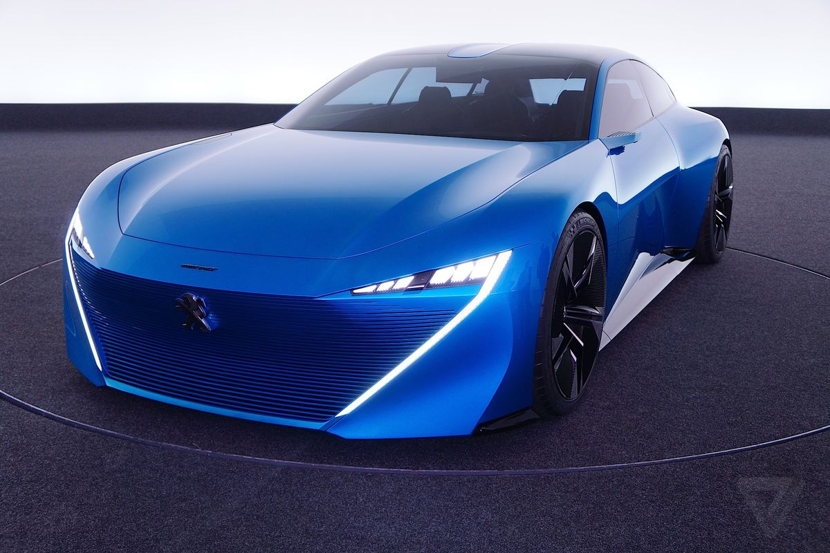 Cars Of The Future Peugeots Instinct Concept Car Is Its Vision Of An