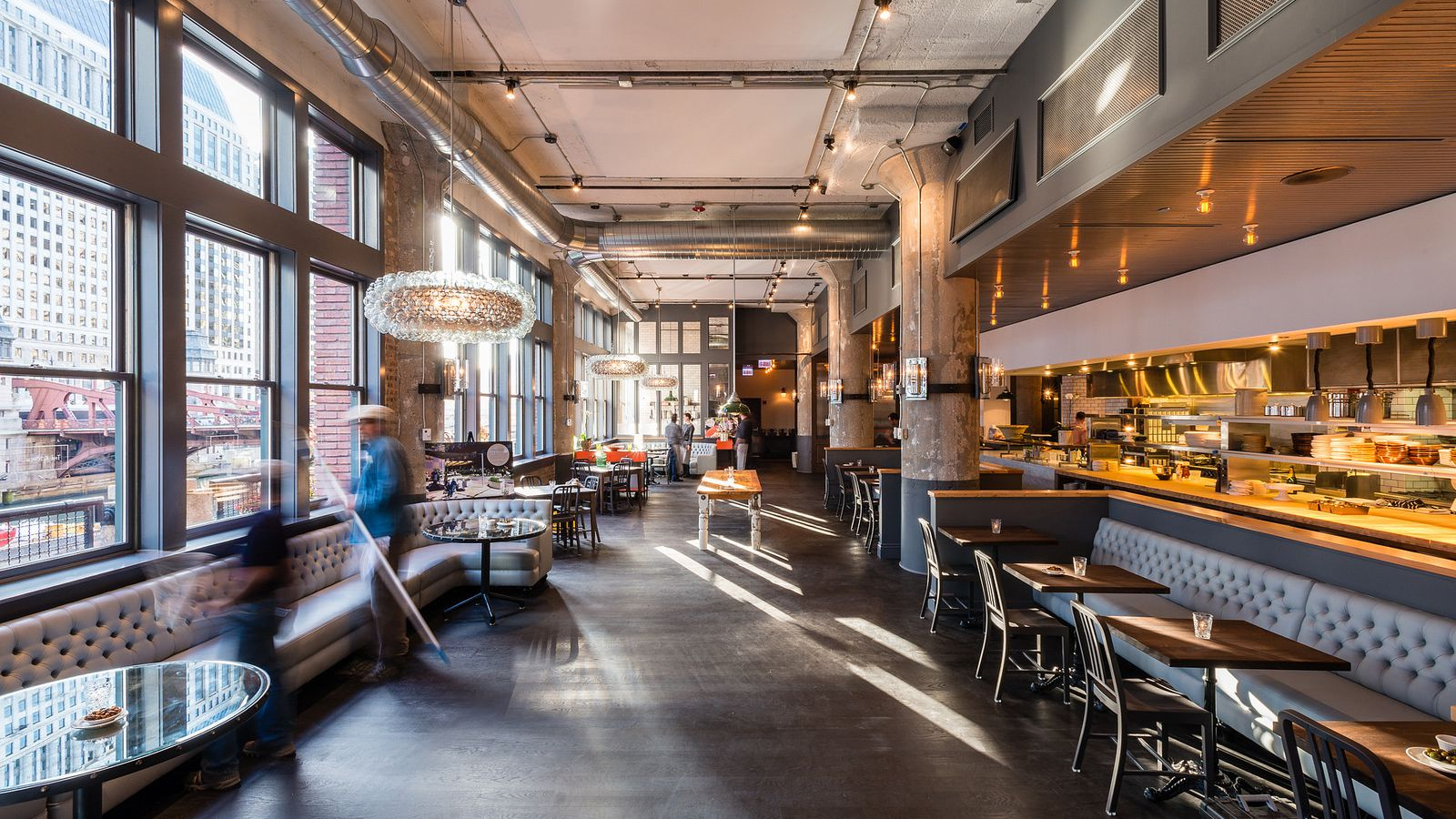 Restaurant Farmhouse Chicago Sneak A Peek At The Kitchen 39s Menus Opening Monday On The