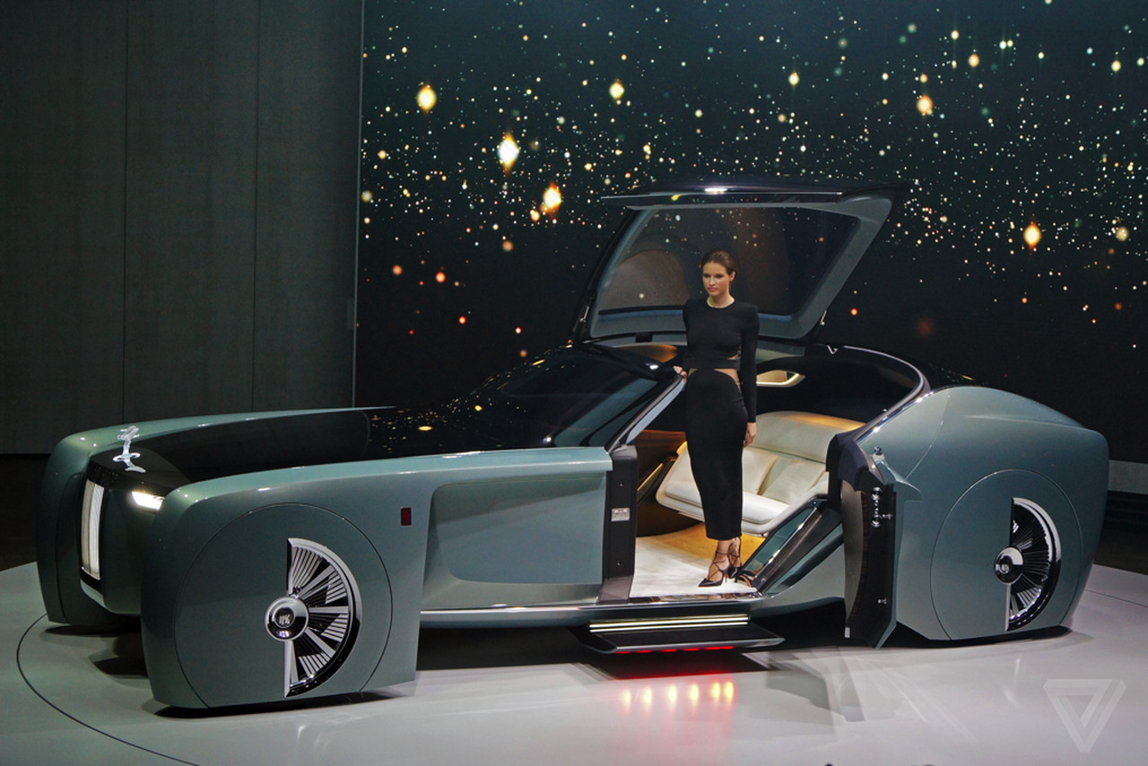 Royal Rise Car Wallpapers The Rolls Royce Vision 100 Concept Is Completely