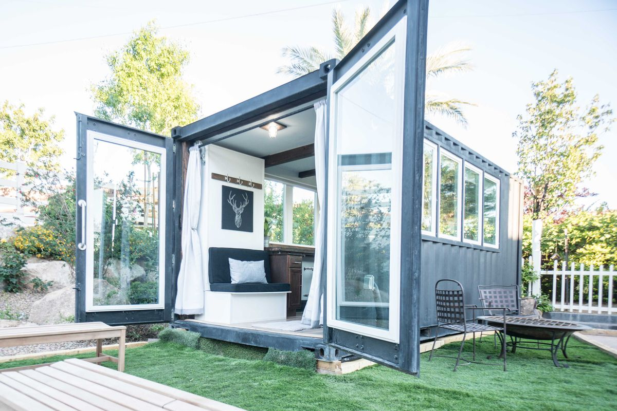 Container Haus New York Light Filled Shipping Container House Cost Just 36k To