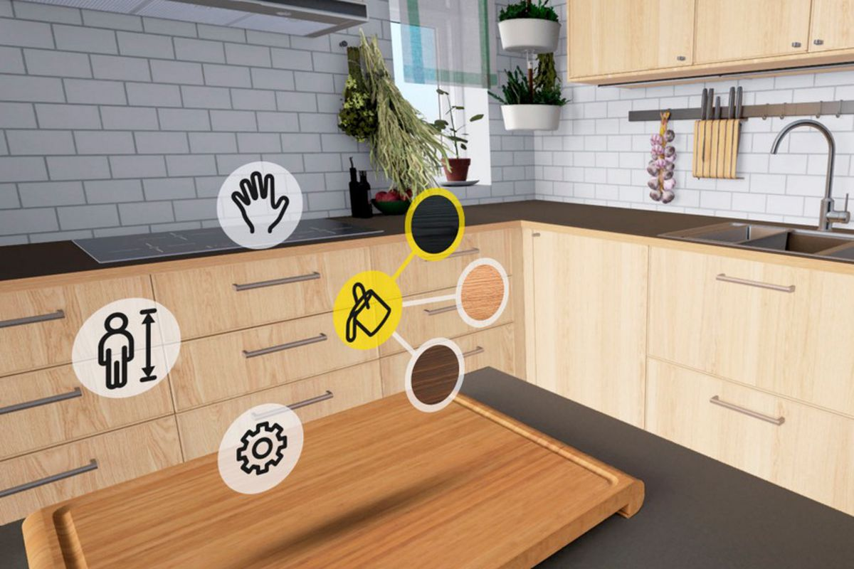 ikea VR experience HTC Vive kitchen remodelling Today