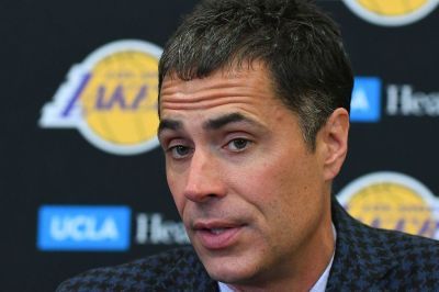 Lakers Media Day: Rob Pelinka wants the new Lakers era to be defined by competing for greatness ...