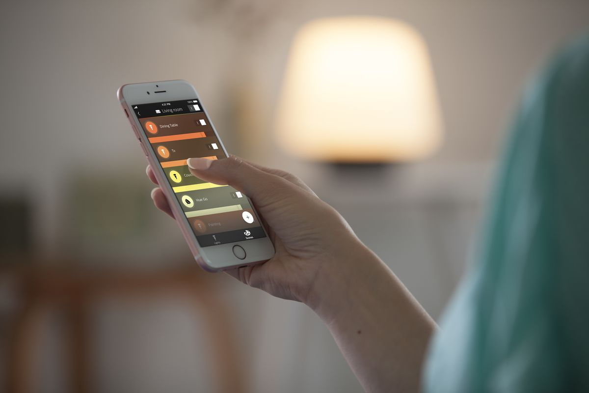 Hue Philips App Philips' Hue App Gets Way Better With An Overhauled Design