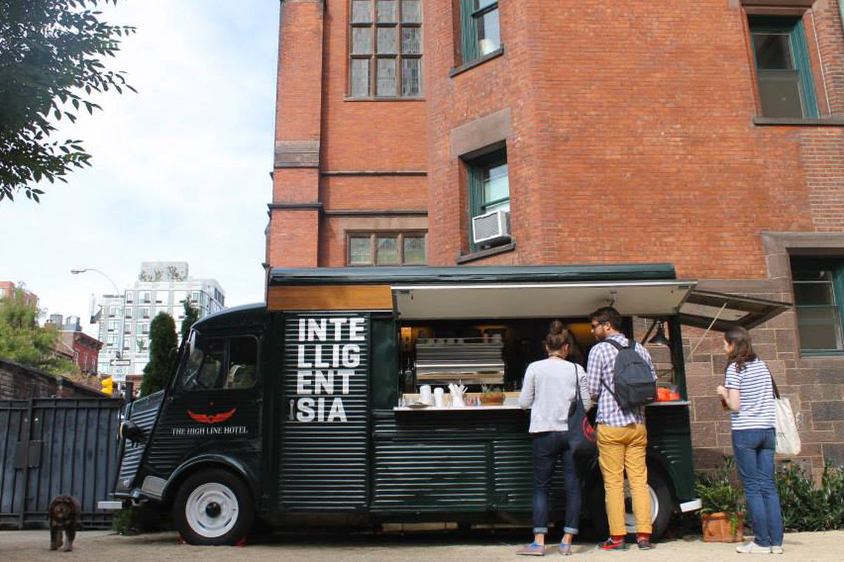 Alchemy Coffee Food Truck Peet 39s Coffee And Tea Buys Intelligentsia Coffee Eater