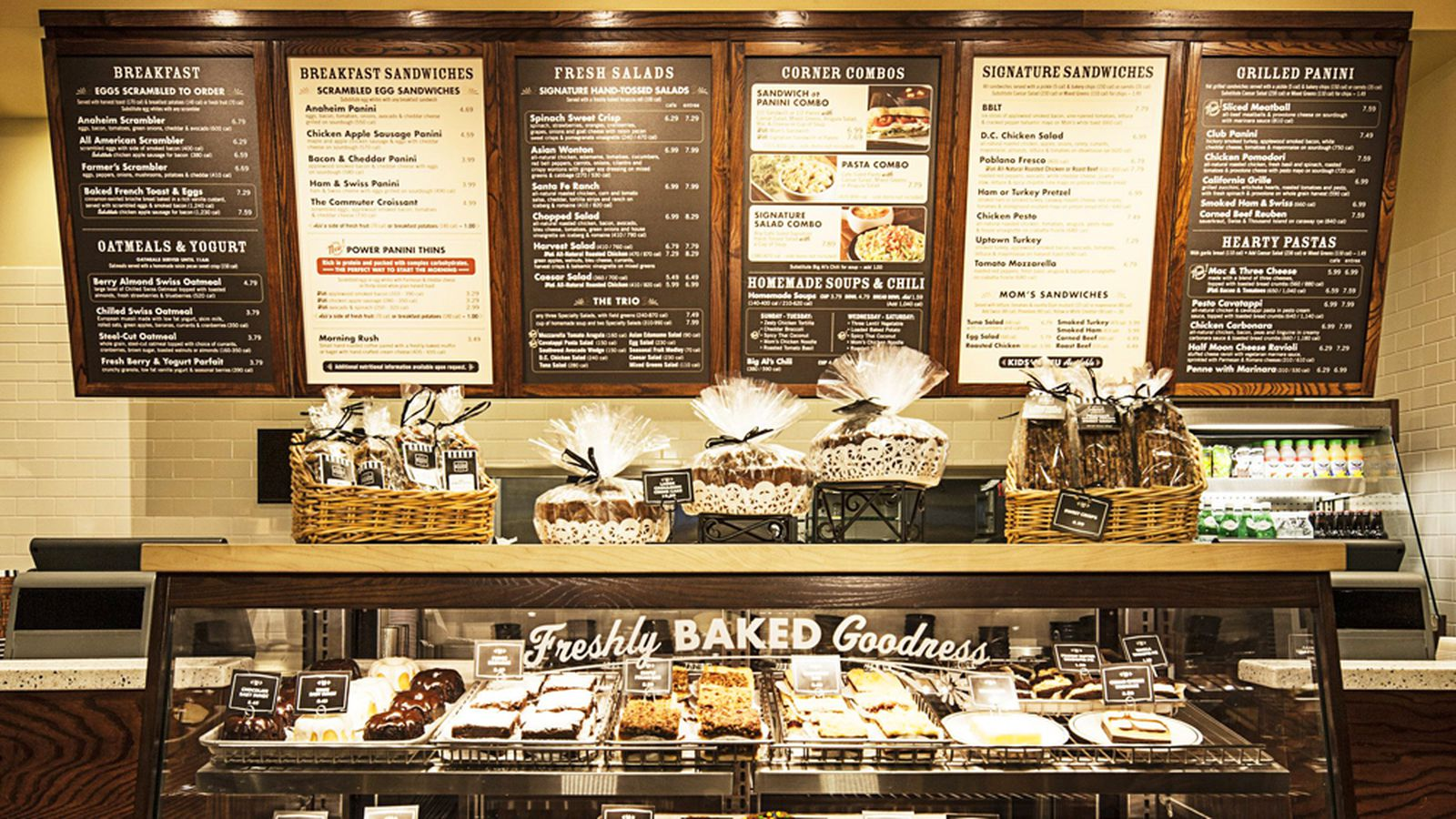 corner bakery com