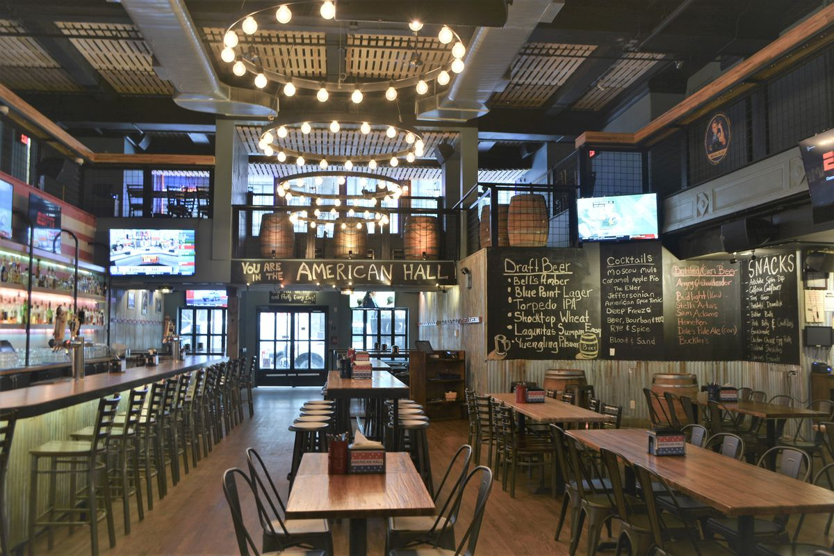 American Hall Opens In Midtown In 3 Story Bar Eater Ny