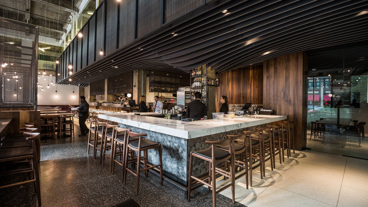 Subway Tile Inside Maru Sushi, Downtown's New Stunner - Eater Detroit