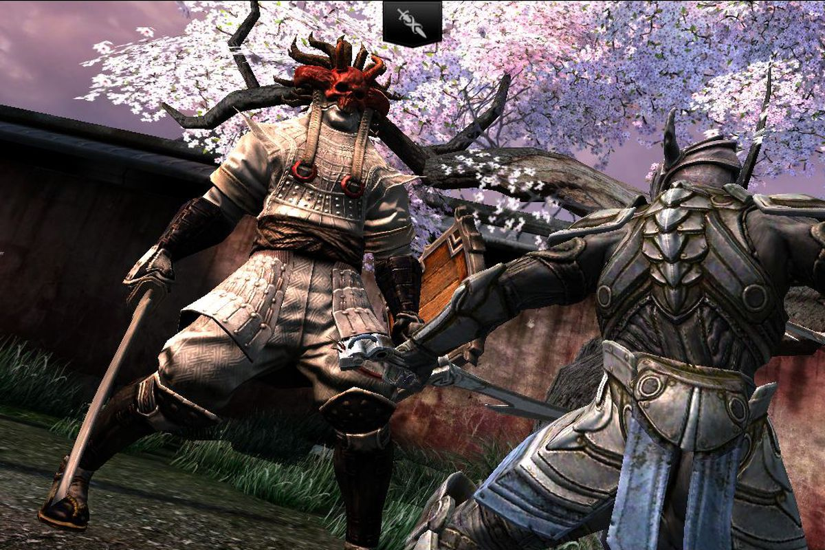 Samurai Wallpaper Iphone 6 Infinity Blade 2 For Ios Hands On Preview The Verge