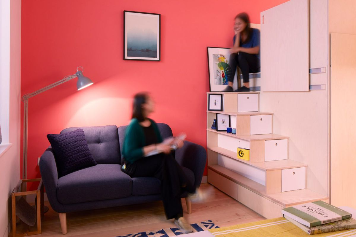 Micro Living Apartment This Micro Apartment Is Londons Latest Idea To Combat