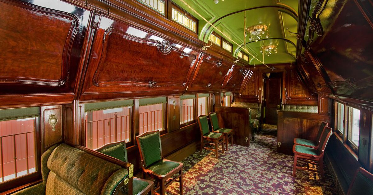 Alessi Sale The History Of Private Pullman Train Cars - Curbed