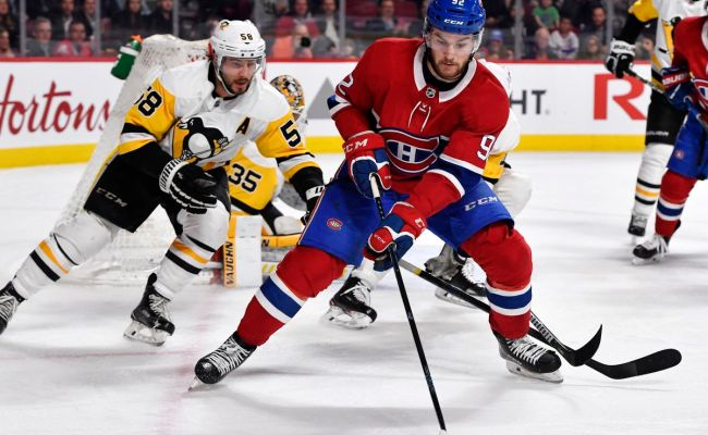 Canadiens Vs Penguins Game Thread Rosters Lines And