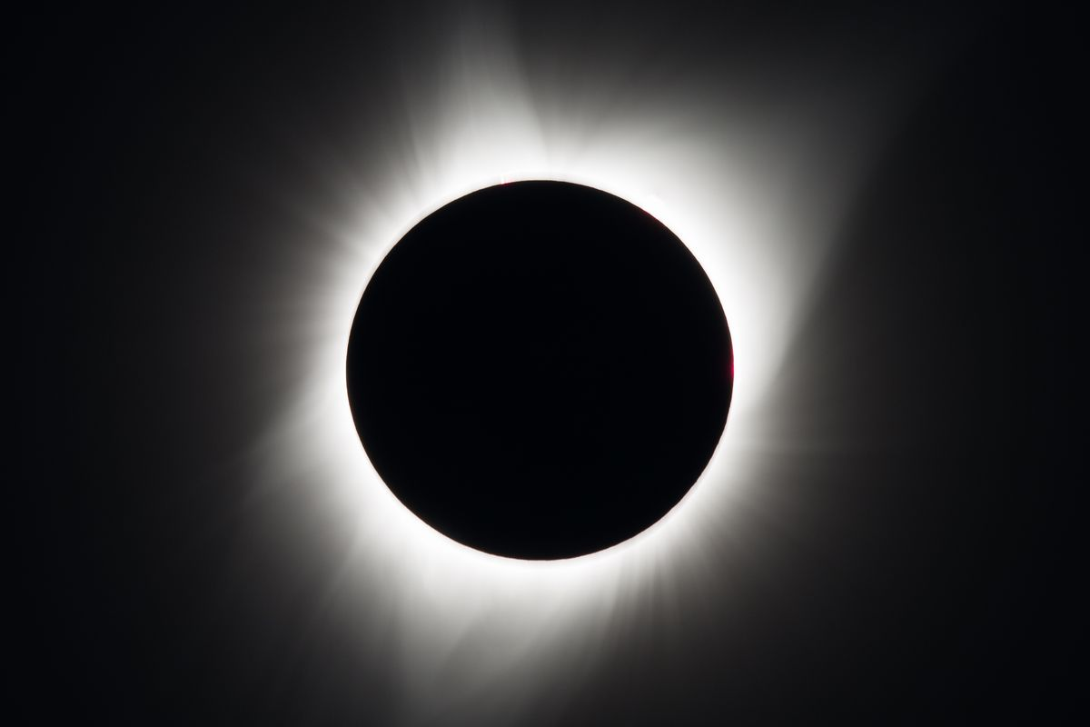 Sol A Clipser Did You Miss Yesterdays Total Solar Eclipse Heres Your