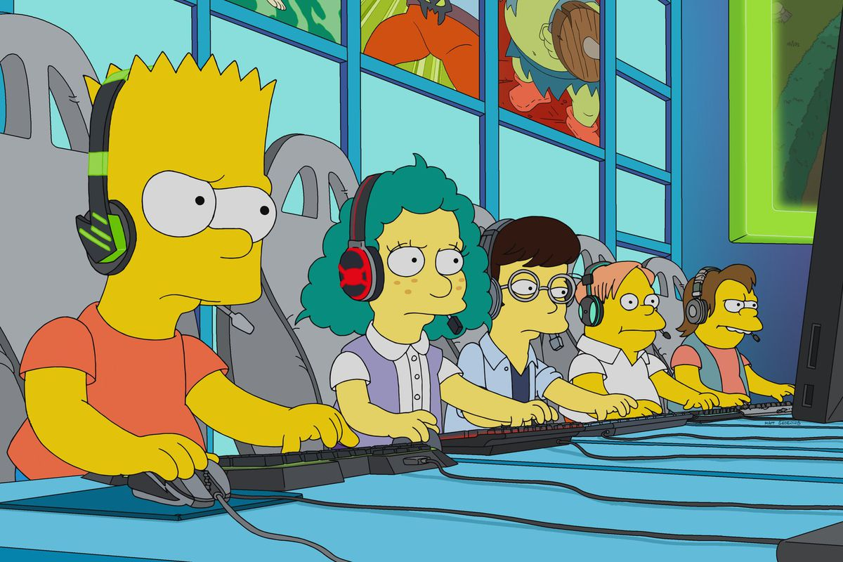 The Yellow Wallpaper Book Quotes Bart Simpson Becomes An Esports Star In Next Episode Of