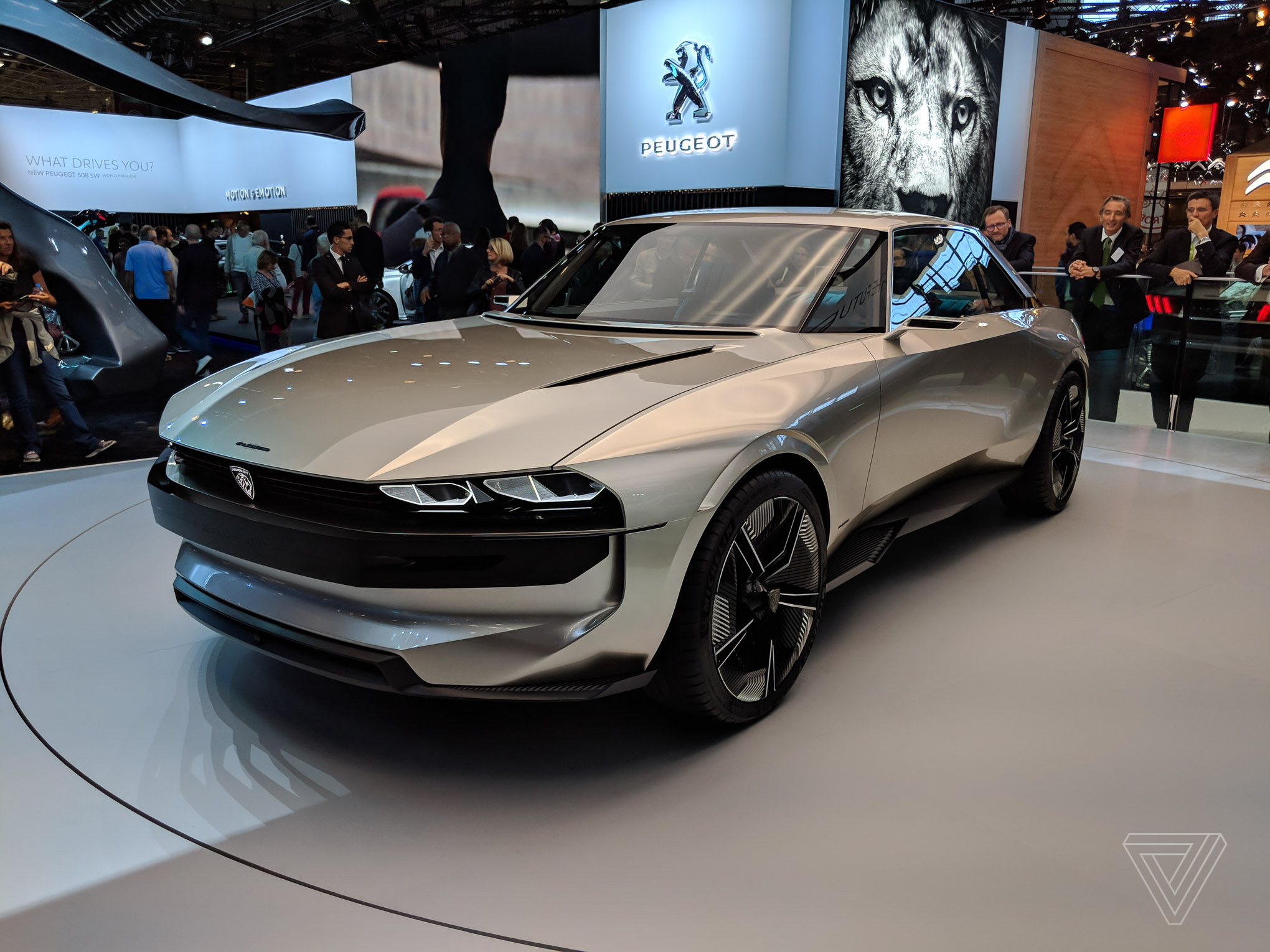 Peugeot First Car Peugeots E Legend Concept Is A Muscle Car For The