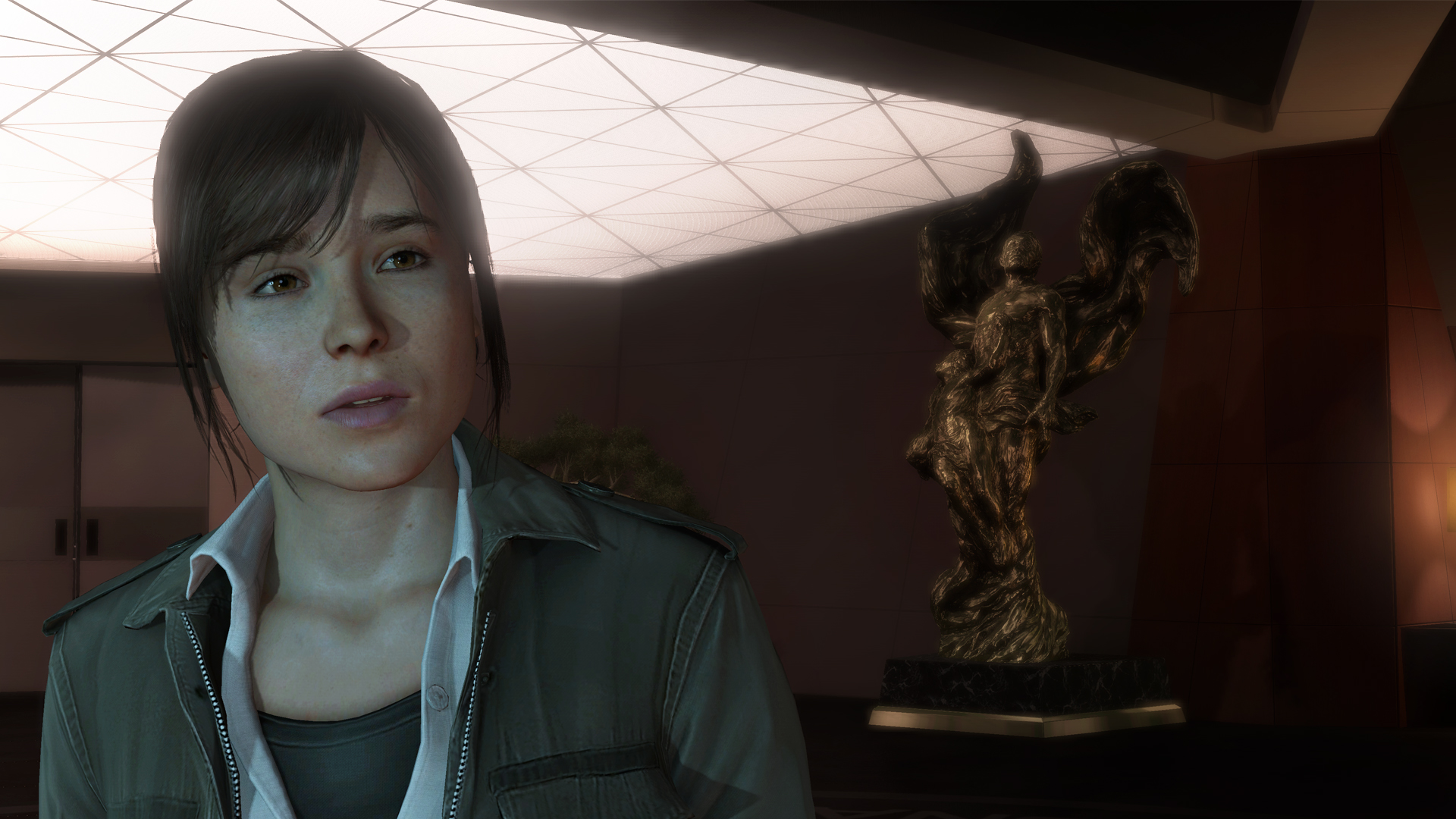 Ps4 Wallpaper Hd Beyond Two Souls Review Hand In Hand Polygon