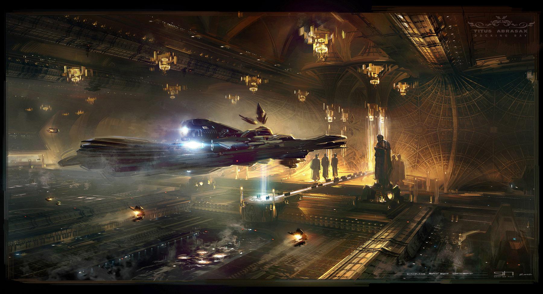 Hunter Wallpaper Hd The Spectacular Science Fiction Concept Art Of Jupiter
