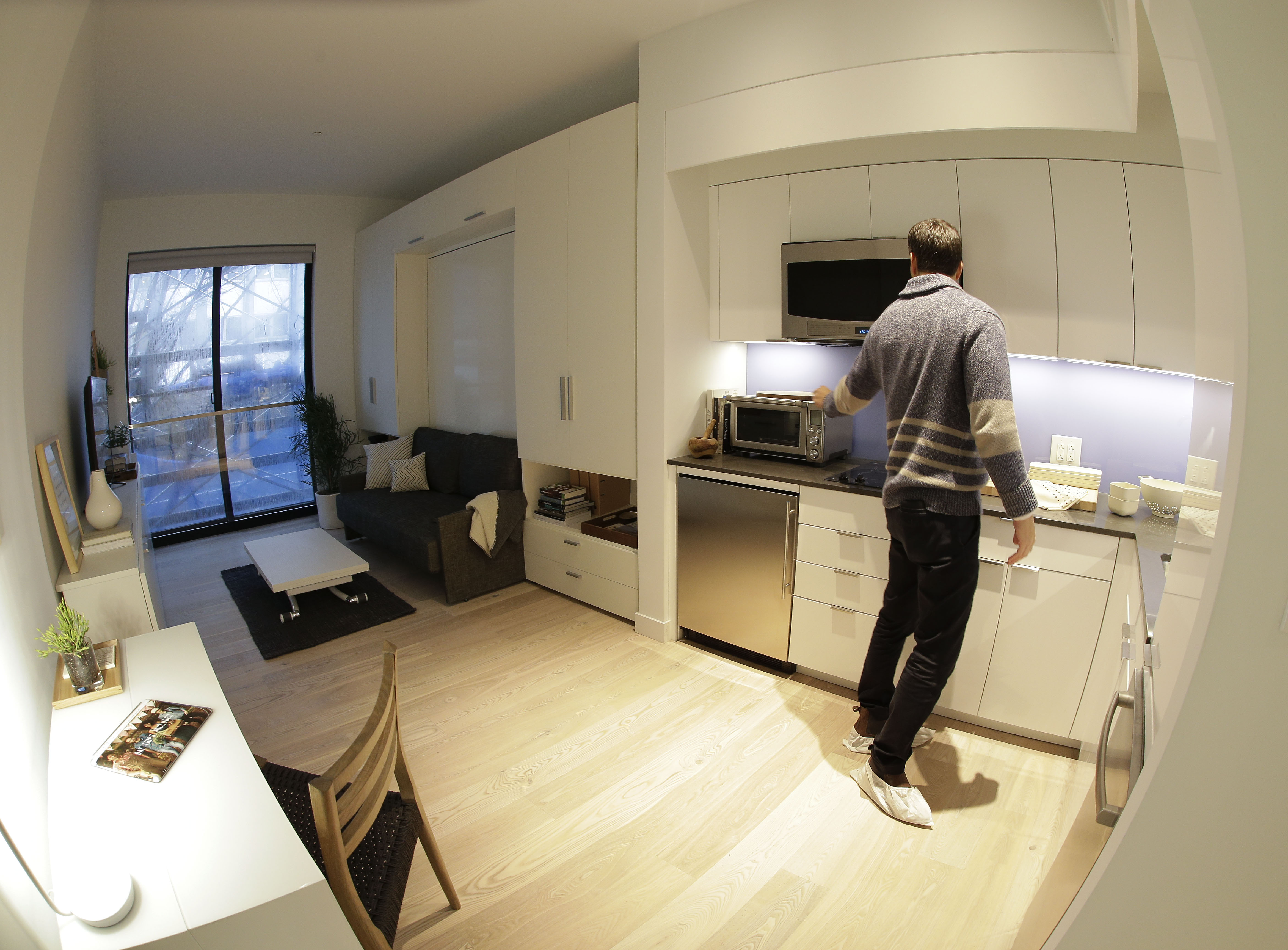 Micro Apartments Design High Tech Millennial Lifestyle Inspires Micro Apartment