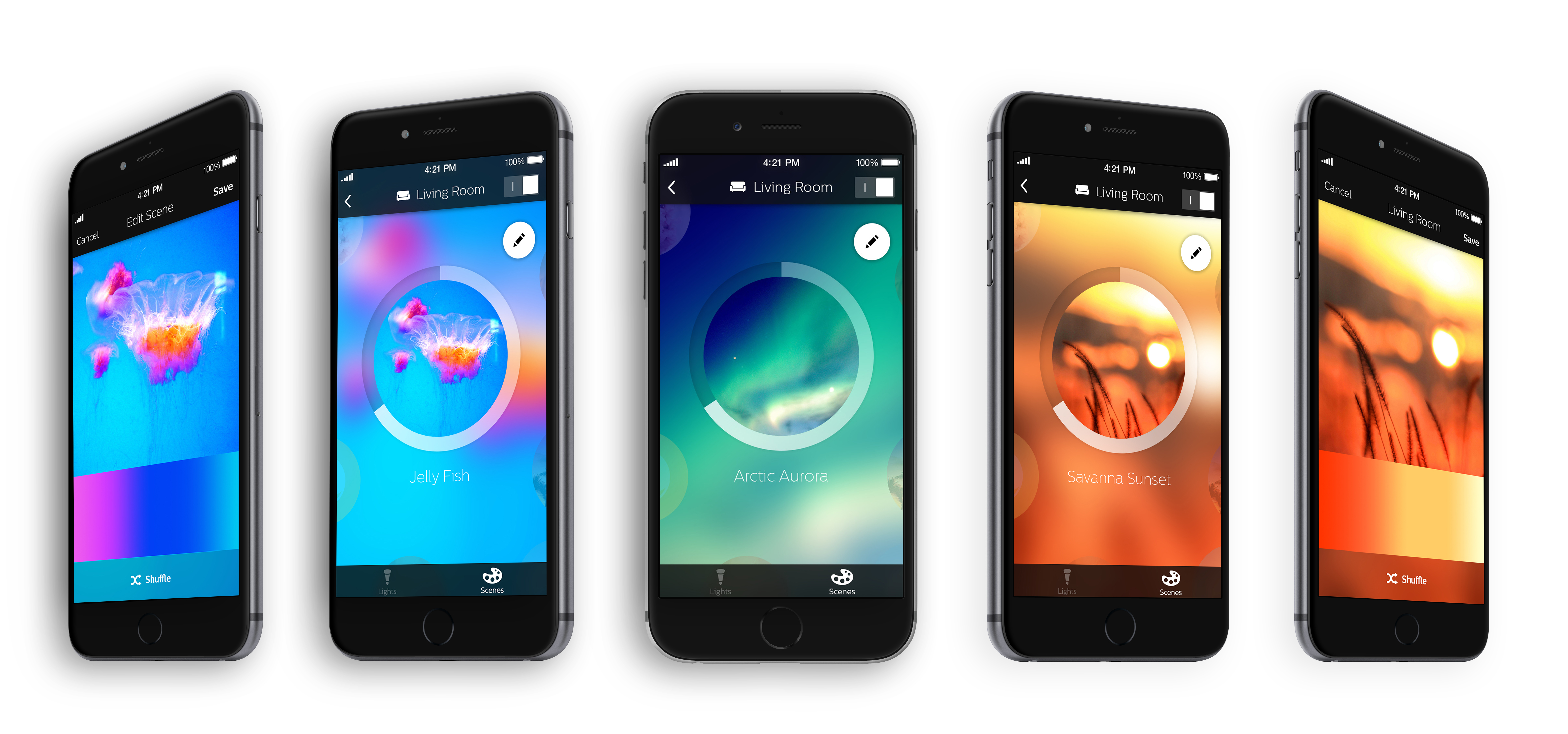 Philips Hue Philips 39 Hue App Gets Way Better With An Overhauled Design