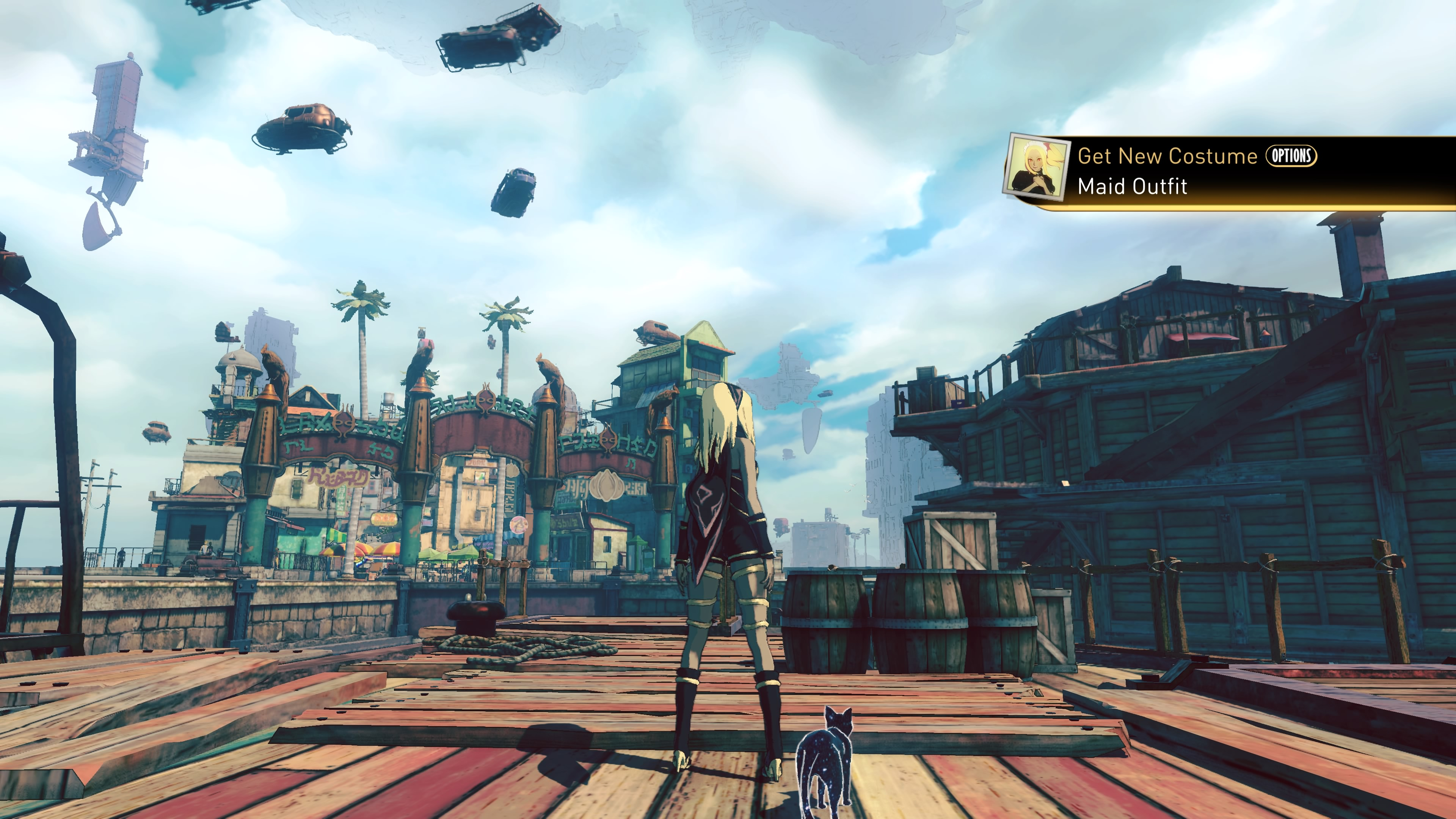 3d Clock Live Wallpaper Gravity Rush 2 Is 2017 S First Excellent Game The Verge