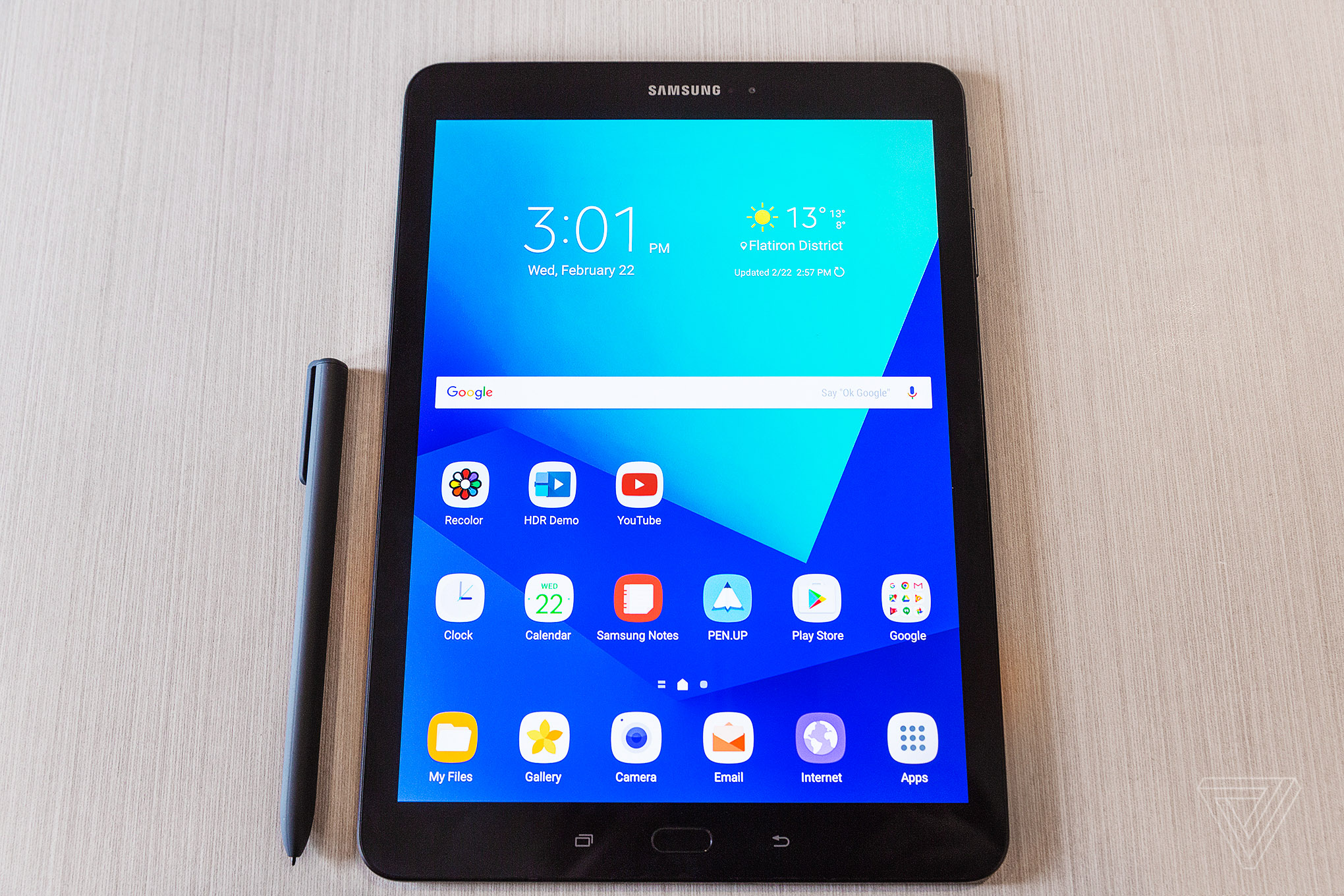 Samsung Tab S3 Samsungs New Galaxy Tab S3 Comes With Four Speakers And A