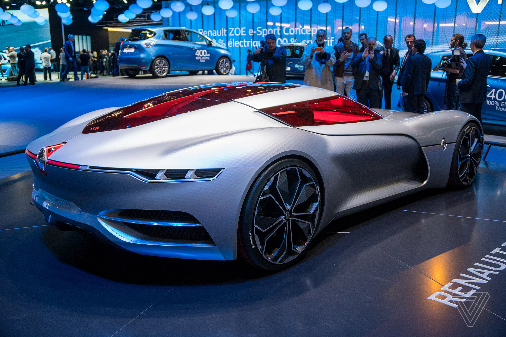 Cars Of The Future The Renault Trezor Is The Retro Future Concept Car Of My
