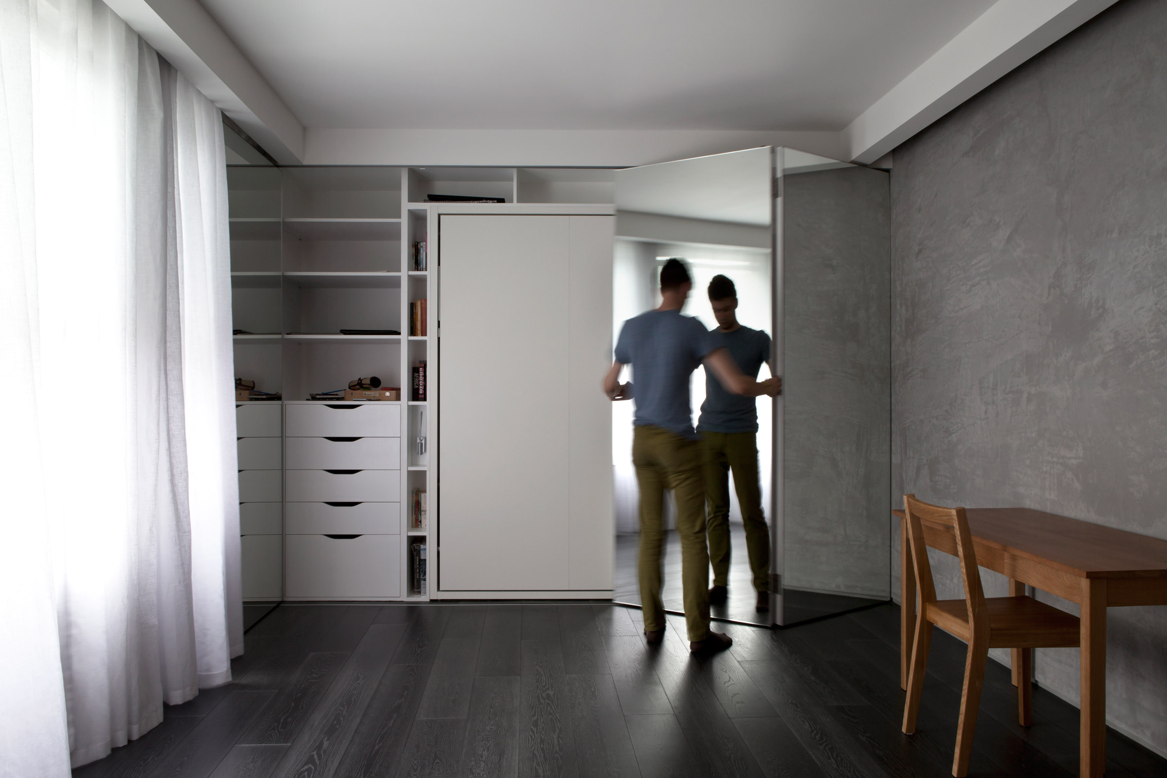 Micro Apartment Portland Urban Hermitage, A 280-square-foot London Studio, Offers