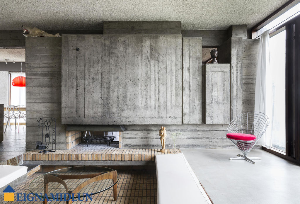 Square Kitchen Island Bench Brutalist Beauty With Indoor Pool Hits Market In Iceland