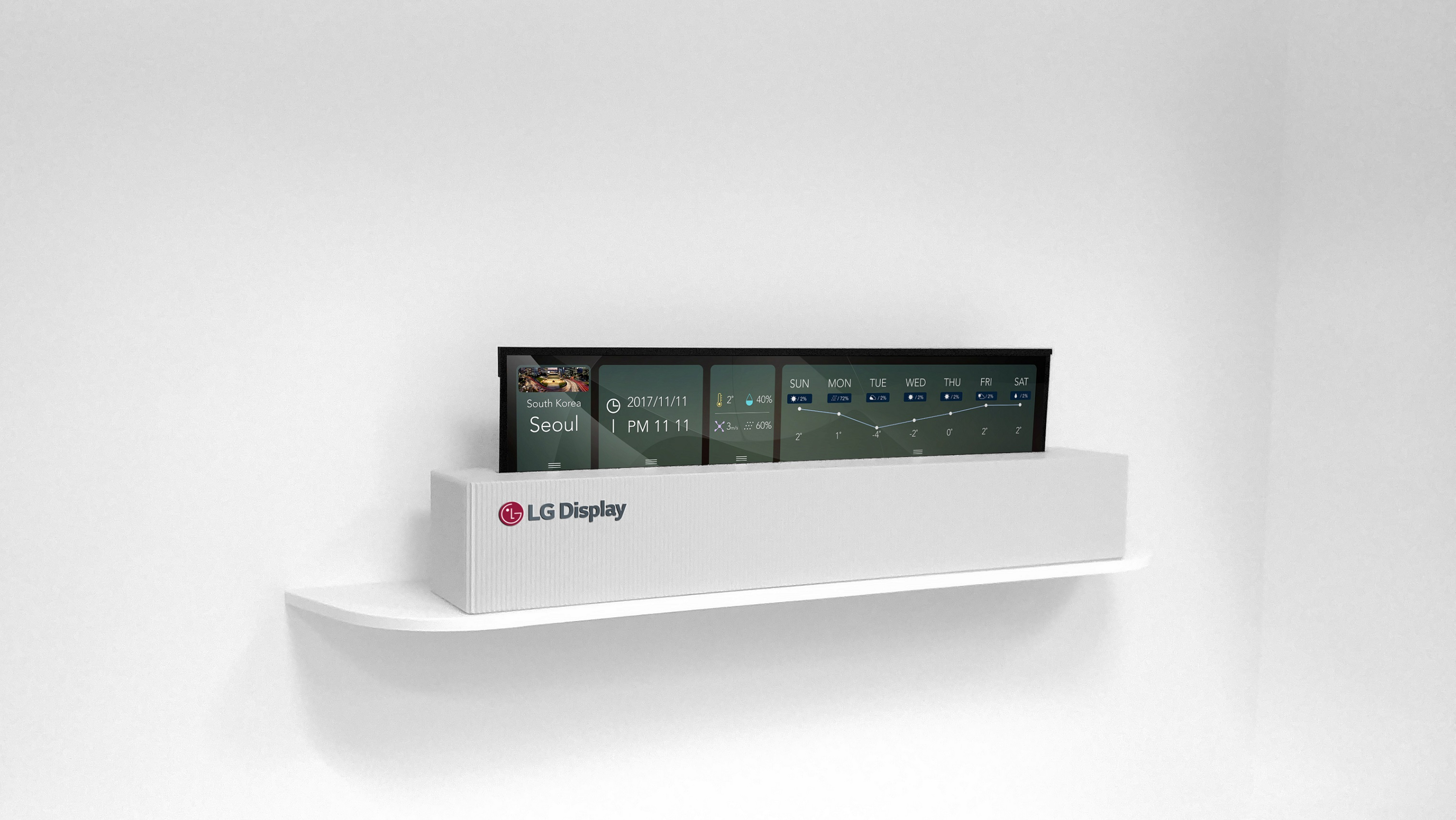 65inch Tv Dimensions Lg Display Has Made A 65 Inch Rollable Oled Tv The Verge