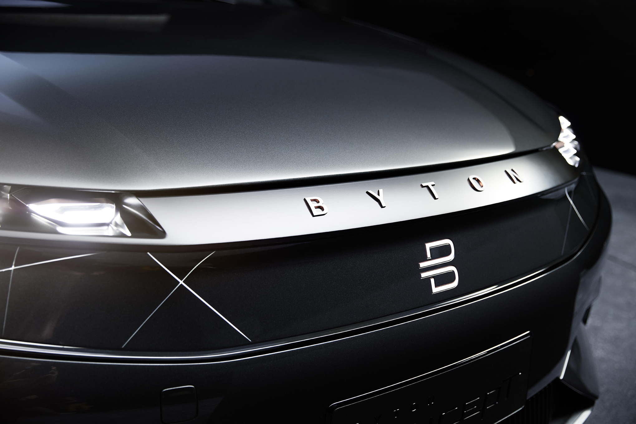 Dubai Car Wallpaper Byton S Electric Suv Concept Is Another Wild Stab At The