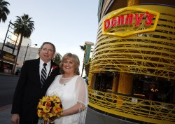 Affordable Of Course Couples Have Tied Knot At Racked Vegas Dennys Las Vegas Strip Menu Dennys Las Vegas Strip Coupons