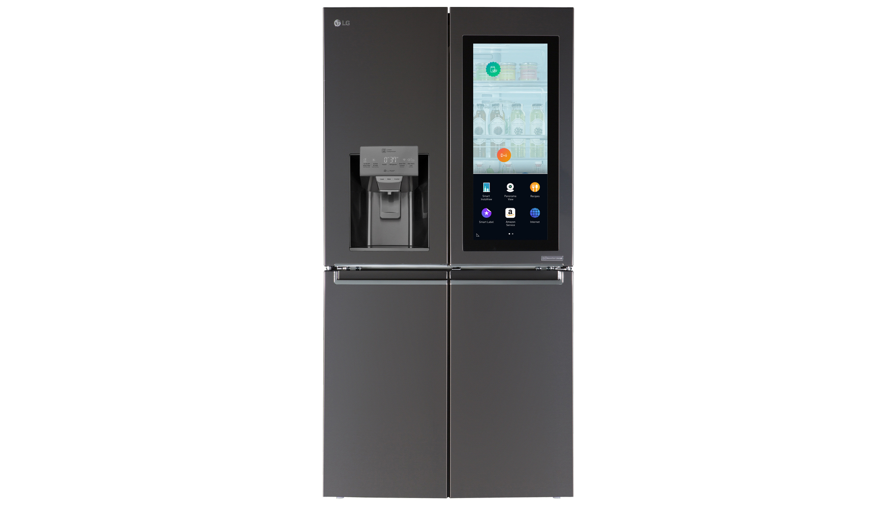 Smart Kühlschrank Lg Put Webos And Amazon Alexa On A Fridge The Verge