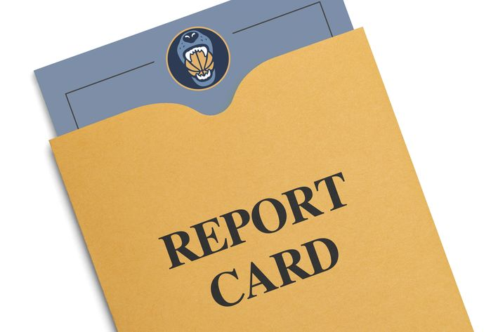 Grizzlies Report Card - Grizzly Bear Blues - report card