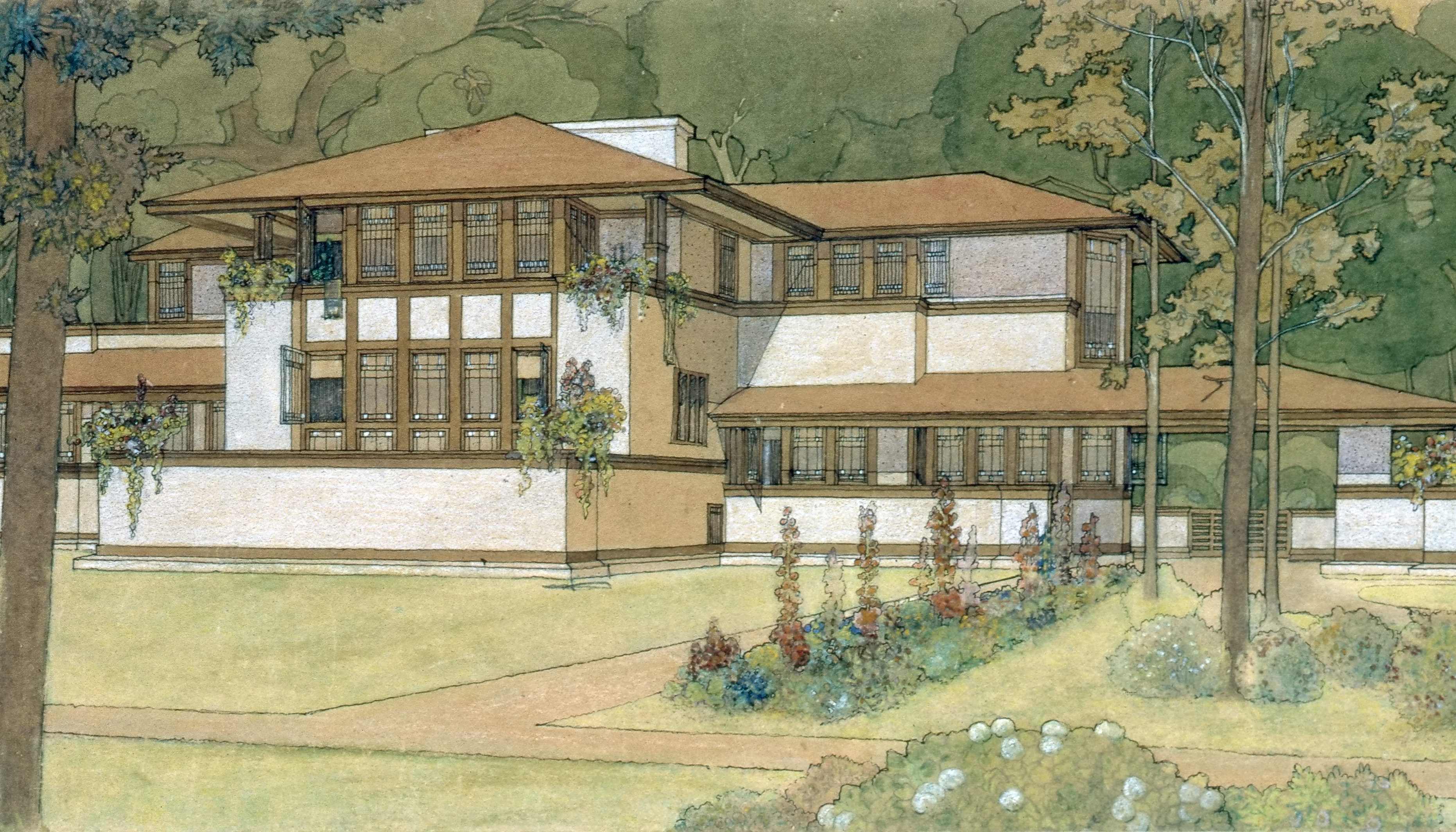 Frank Lloyd Wright Meet Marion Mahony Griffin Frank Lloyd Wright S Best Frenemy Curbed