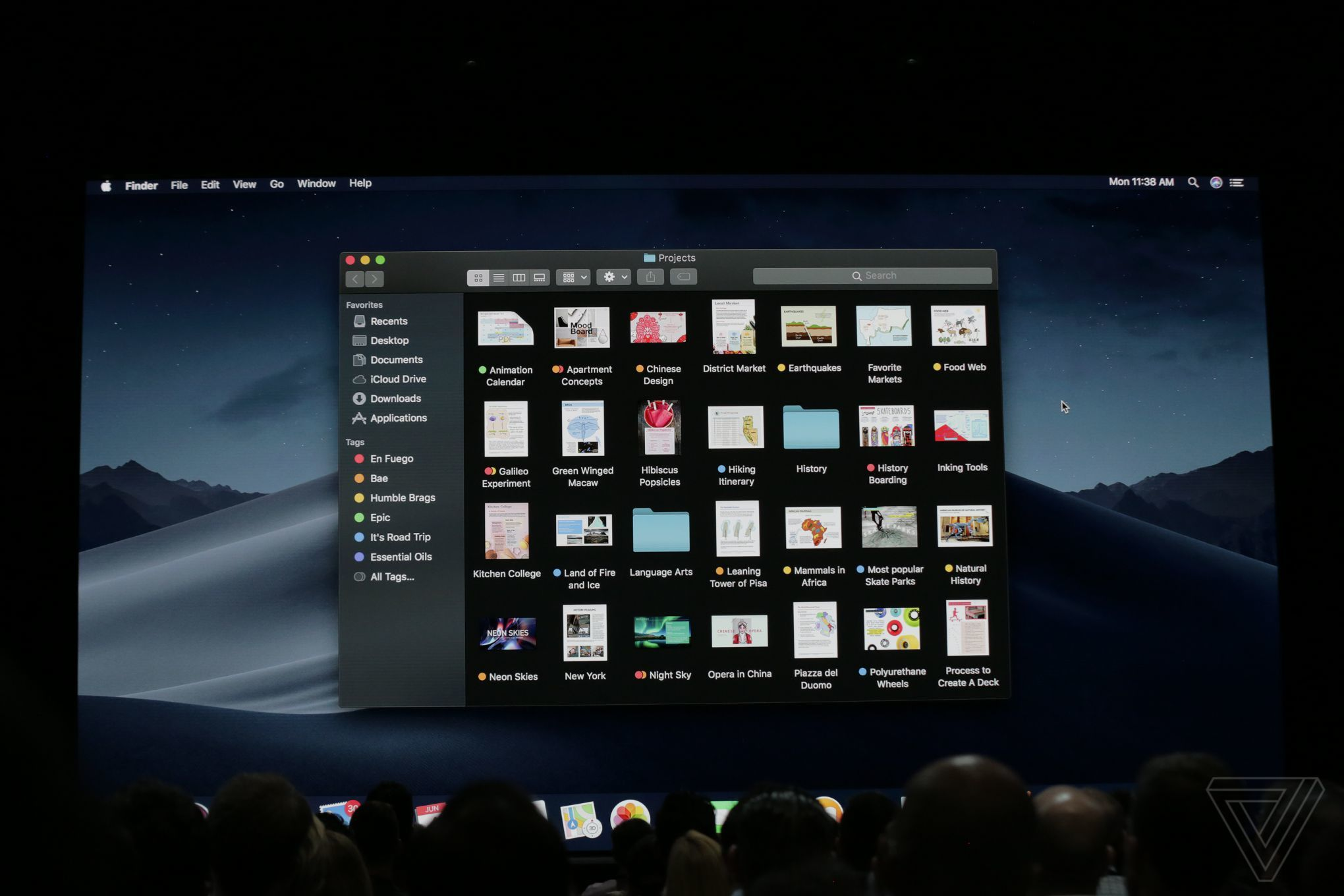 Mac Schreibtisch Macos Mojave Update Announced With Dark Mode Desktop Stacks And