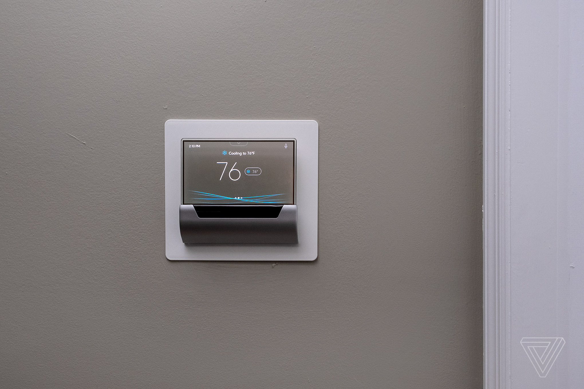 Tv Board Glas Glas Smart Thermostat Review Not As Smart As It Looks The Verge