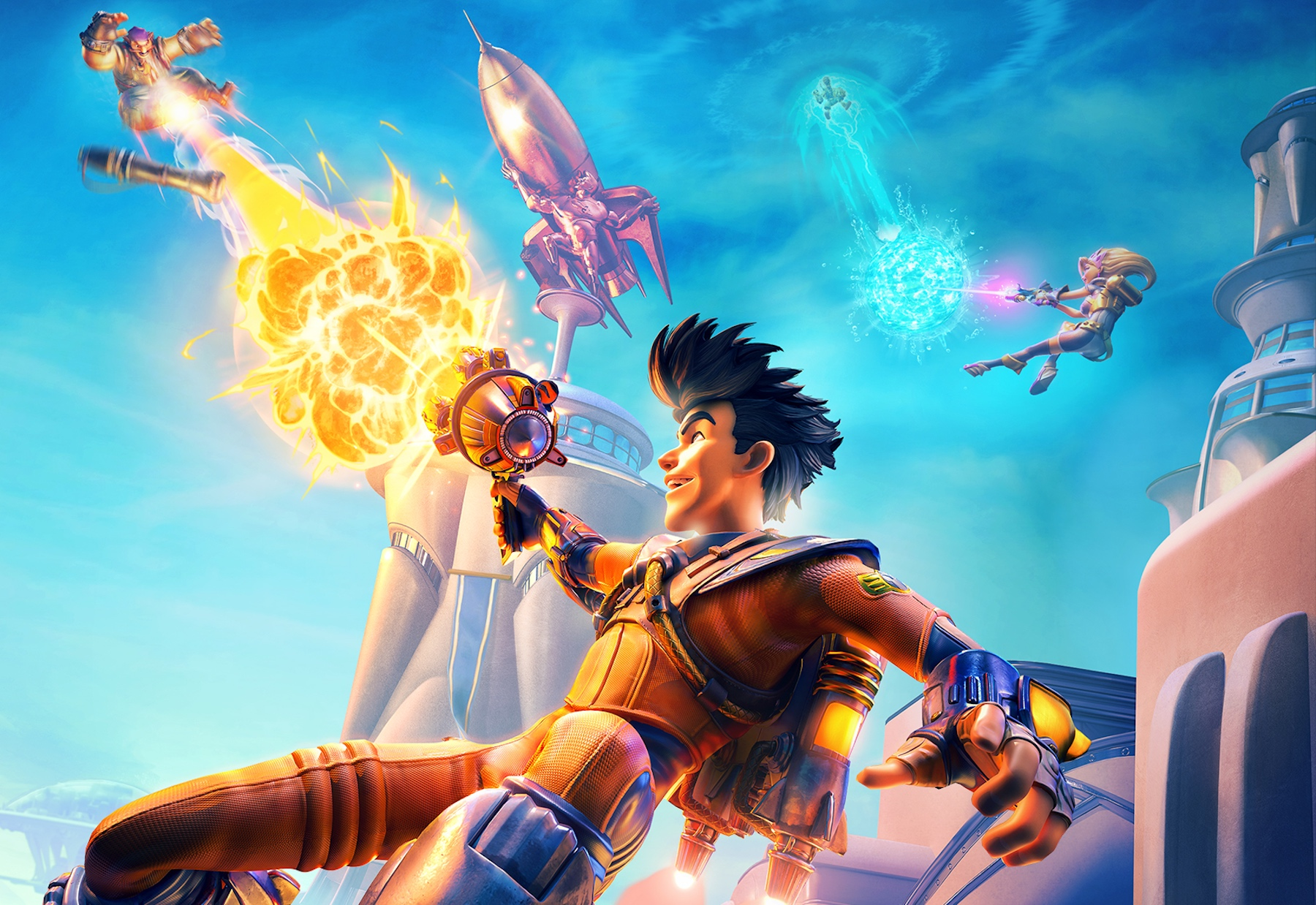 Arena Game Rocket Arena Nexon S New Free To Play Shooter From Ex Halo