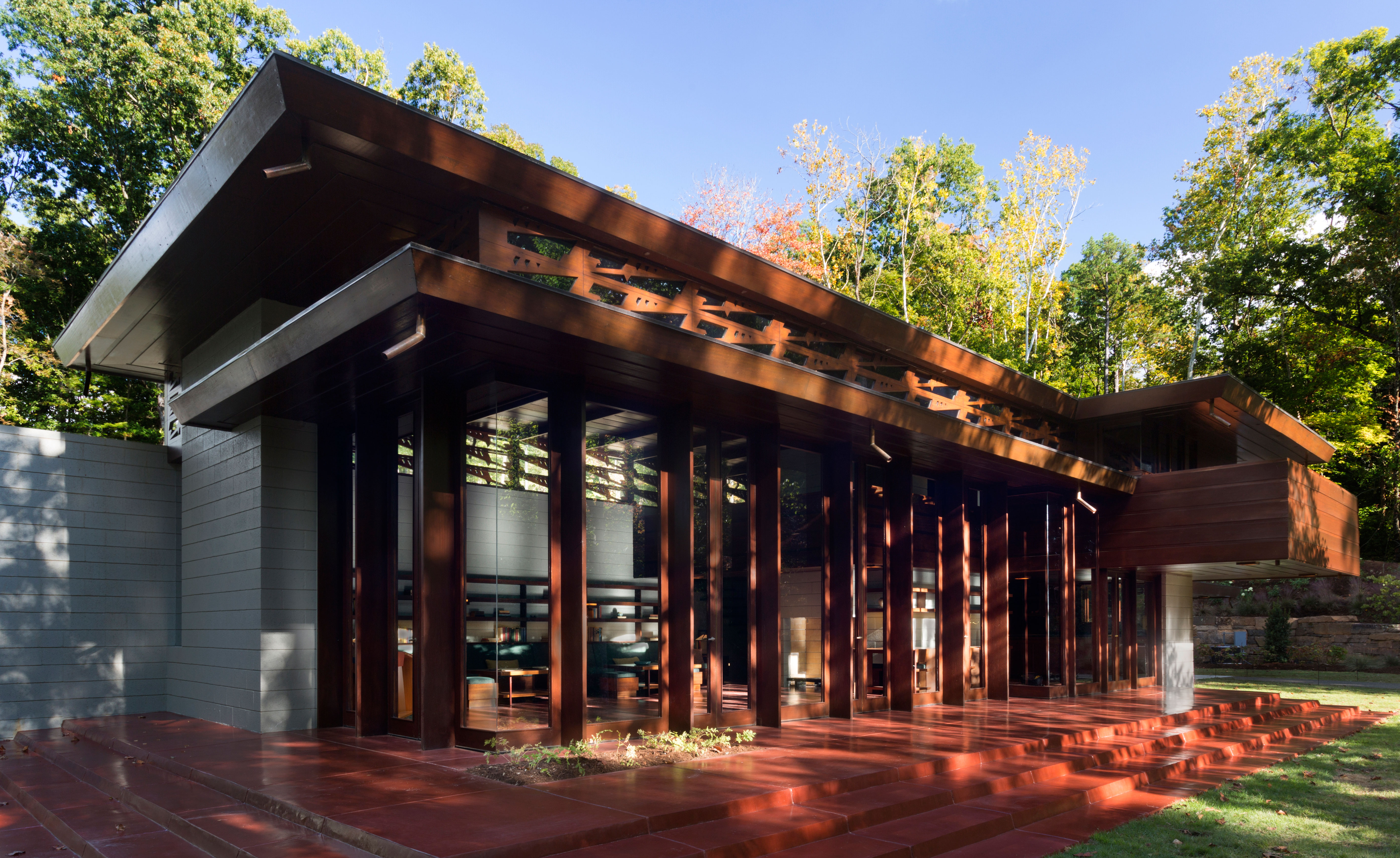 Frank Lloyd Wright Falling Water Wallpaper Frank Lloyd Wright S Bachman Wilson House Gets A New Lease