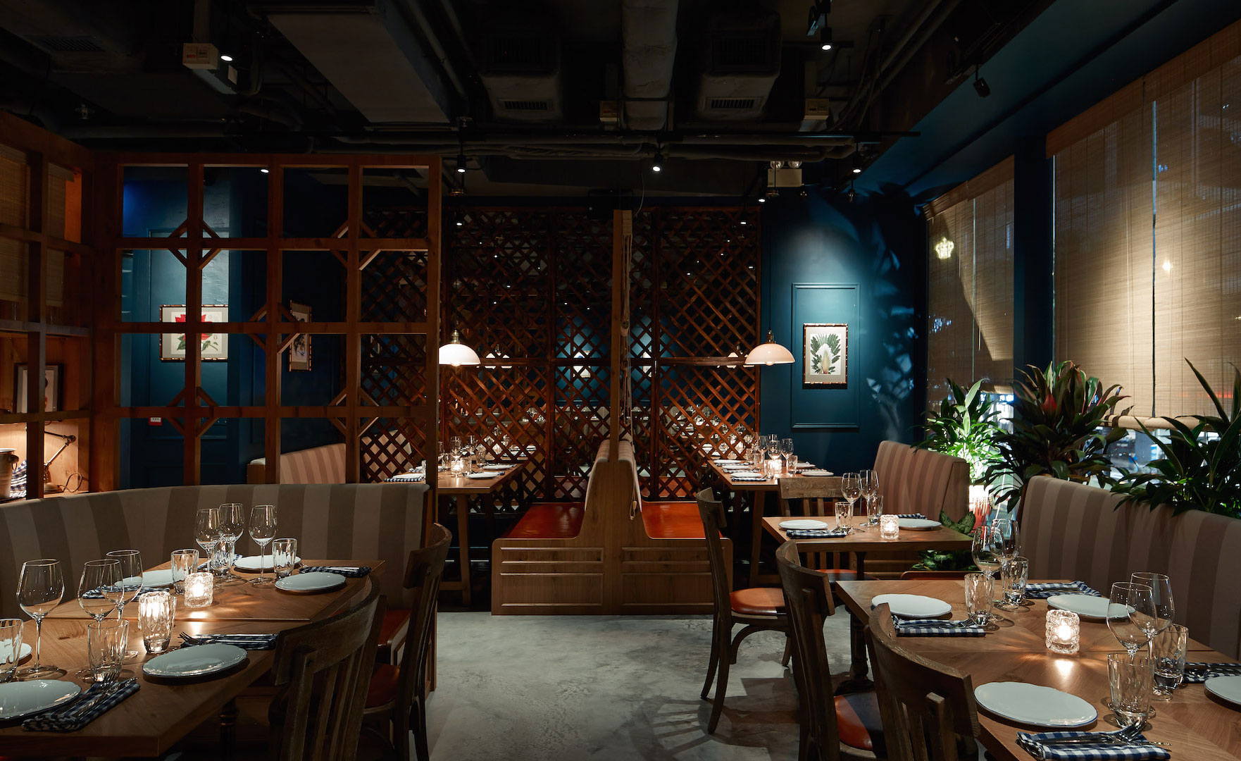 Helm Design The Optimist Restaurant Review - Hong Kong, China | Wallpaper*