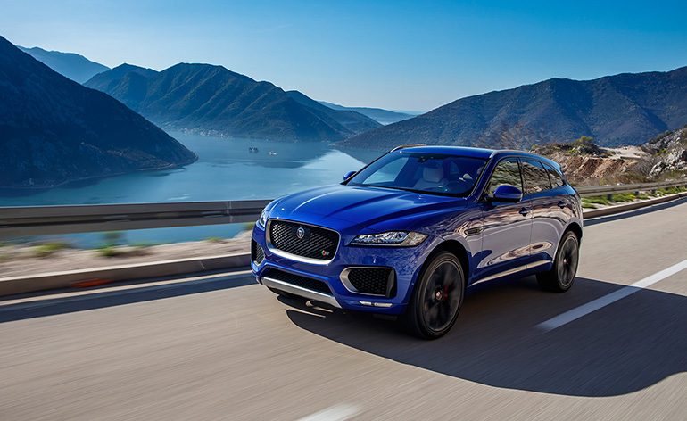 Luxury Car Interior Wallpapers Introducing The Jaguar F Pace A Sporty Suv Wallpaper