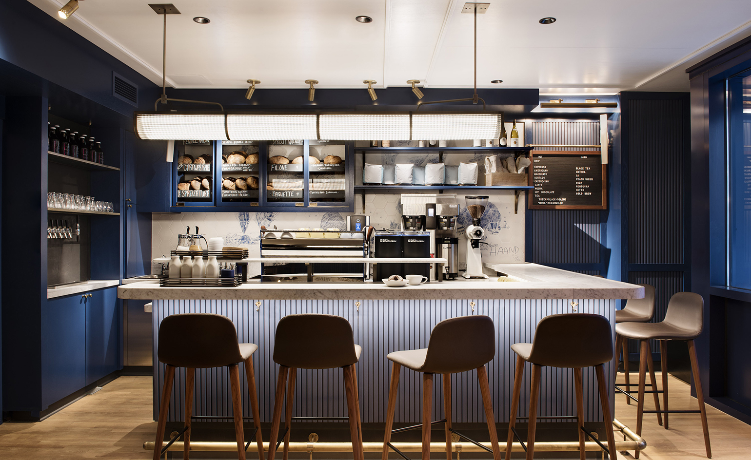 Complete Black Wallpaper Daily Provisions Restaurant Review New York Usa